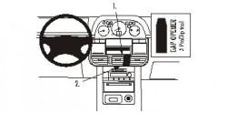 Fixation voiture Proclip  Brodit Nissan X-Trail Réf 853134