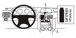 Fixation voiture Proclip  Brodit Subaru Forester Réf 853137
