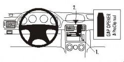 Fixation voiture Proclip  Brodit Subaru Forester  SEULEMENT pour les modèles avec porte-gobelet. Réf 853138