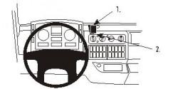 Fixation voiture Proclip  Brodit MAN TG-series Réf 853148