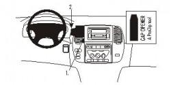 Fixation voiture Proclip  Brodit Toyota LandCruiser 100 Réf 853161