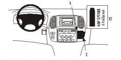 Fixation voiture Proclip  Brodit Toyota LandCruiser Réf 853162