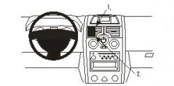 Fixation voiture Proclip  Brodit Renault Megane Réf 853181