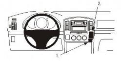 Fixation voiture Proclip  Brodit Suzuki Grand Vitara Réf 853207