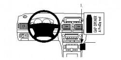 Fixation voiture Proclip  Brodit Toyota Avensis Réf 853212