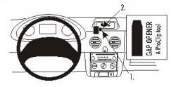 Fixation voiture Proclip  Brodit Nissan Kubistar Réf 853215