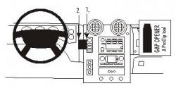 Fixation voiture Proclip  Brodit Hummer H2 Réf 853216