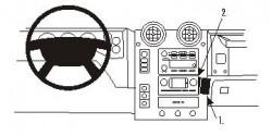 Fixation voiture Proclip  Brodit Hummer H2 Réf 853217