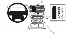 Fixation voiture Proclip  Brodit Jeep Wrangler Réf 853223