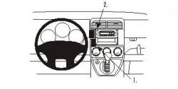 Fixation voiture Proclip  Brodit Honda Element Réf 853227