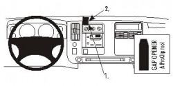 Fixation voiture Proclip  Brodit Chevrolet Express Réf 853231
