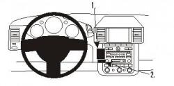 Fixation voiture Proclip  Brodit Nissan Murano Réf 853236