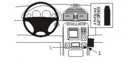 Fixation voiture Proclip  Brodit Mercedes Benz CL-Class Réf 853249