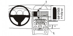 Fixation voiture Proclip  Brodit Mazda 2 Réf 853258