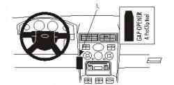 Fixation voiture Proclip  Brodit Ford Mondeo Réf 853260