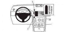 Fixation voiture Proclip  Brodit Opel Meriva Réf 853261