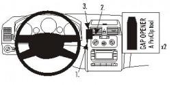 Fixation voiture Proclip  Brodit Volkswagen Touran Réf 853267