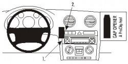 Fixation voiture Proclip  Brodit Audi A3 Réf 853269