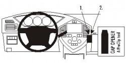 Fixation voiture Proclip  Brodit Kia Carens II Réf 853274