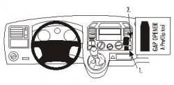 Fixation voiture Proclip  Brodit Volkswagen Caravelle Réf 853277