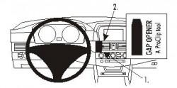 Fixation voiture Proclip  Brodit BMW 520-545/M5 E60, E61  PAS pour M-Sport. Réf 853281