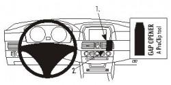 Fixation voiture Proclip  Brodit BMW 520-545/M5 E60, E61  PAS pour M-Sport. Réf 853282