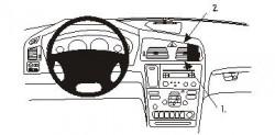 Fixation voiture Proclip  Brodit Volvo V70 N Réf 853295