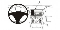 Fixation voiture Proclip  Brodit Mazda RX-8 Réf 853301