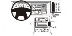 Fixation voiture Proclip  Brodit Chevrolet Avalanche Réf 853307