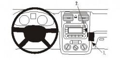 Fixation voiture Proclip  Brodit Volkswagen Eos Réf 853359