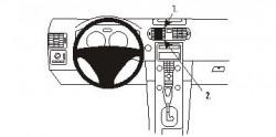 Fixation voiture Proclip  Brodit Volvo C30 Réf 853360