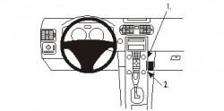 Fixation voiture Proclip  Brodit Volvo C30 Réf 853361
