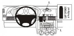 Fixation voiture Proclip  Brodit Land Rover Freelander Réf 853372