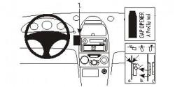 Fixation voiture Proclip  Brodit Toyota Celica Réf 853380
