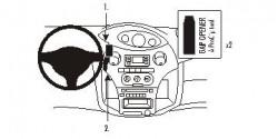 Fixation voiture Proclip  Brodit Toyota Yaris Réf 853381