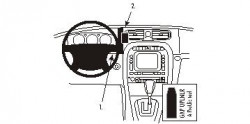 Fixation voiture Proclip  Brodit Jaguar XJ Réf 853383