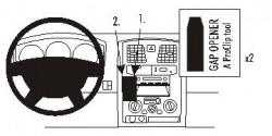 Fixation voiture Proclip  Brodit Isuzu D-Max Réf 853386