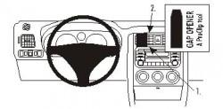Fixation voiture Proclip  Brodit Suzuki Aerio Réf 853405