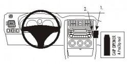 Fixation voiture Proclip  Brodit Suzuki Aerio Réf 853406
