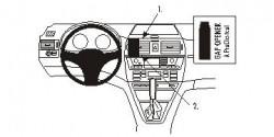 Fixation voiture Proclip  Brodit BMW X3 Réf 853407