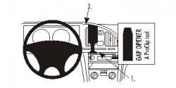 Fixation voiture Proclip  Brodit Hyundai Elantra Réf 853412