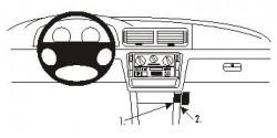 Fixation voiture Proclip  Brodit Volkswagen Passat Réf 853413