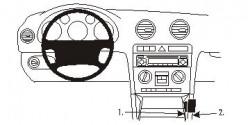 Fixation voiture Proclip  Brodit Audi A3 Réf 853415