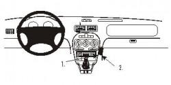 Fixation voiture Proclip  Brodit MG F Réf 853423