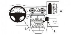 Fixation voiture Proclip  Brodit MG ZT Réf 853424