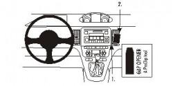 Fixation voiture Proclip  Brodit Fiat Idea Réf 853429