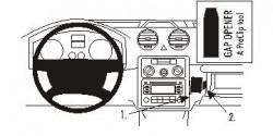 Fixation voiture Proclip  Brodit Volkswagen Caddy  PAS pour les modèles avec boîte à gants. Réf 853436