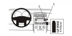 Fixation voiture Proclip  Brodit Chevrolet Equinox Réf 853459