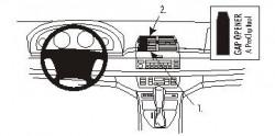 Fixation voiture Proclip  Brodit BMW X5  PAS pour les modèles avec système de navigation. Réf 853463