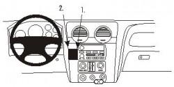 Fixation voiture Proclip  Brodit GMC Envoy Réf 853467